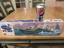 WW2, USA, PT-109 Patrol Boat-- Lt.John F. Kennedy, Plastic Model Kit, Scale 1:72