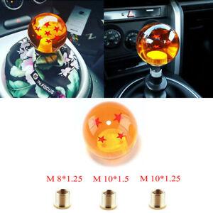 Dragon Ball DBZ 4 star Universal Auto Manual Gear Stick Shift Knob Shifter AT MT