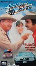 Smokey and the Bandit (VHS, 1996) Burt Reynolds, Jackie Gleason, Sally Fields.