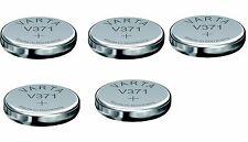 5 Piles V371 VARTA 1.55V 44mAh 371 SR920SW SR69SW SR920 SR69 Oxyde Argent
