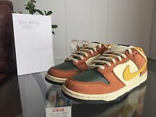 NIKE DUNK LOW PRO SB VAPOR LOWS PINK BOX MINERAL YELLOW LOW DS 10