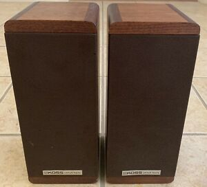 Vintage Koss Dyna Mite M/80 Speakers - Tested - FREE SHIPPING!!! 🧨 Dynamite!