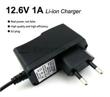 Alimentatore carica batteria charger X pacchi batterie litio li.ion 12.6 Vcc 1A