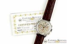 Vintage década de 1940 Benrus Sky jefe Triple Fecha Día Ref. G280F Valjoux 72C Reloj CPO