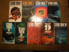 More details for star trek 1-10 first book series, great condition