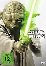 STAR WARS STAR WARS der ANFANG Episodes 1 2 3 Trilogy 3 DVD Box 1 New