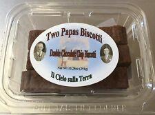 Two Papas Biscotti, Double Chocolate Chip Biscotti
