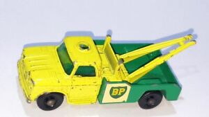 DODGE WRECK TRUCK ~ Lesney Matchbox No. 13 D ~ Made in England in 1965