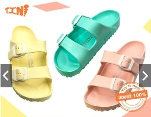 PASTELB RED APPLE BRAND Unisex Vintage Sandals Shoes in Thailand Free ship.