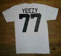 Short sleeves yeezy t-shirt hip hop streetwear kanye jersey club stars Proclub