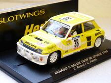 W037-01 slotwings RENAULT 5-Rallye Tour de corso 1984-BARTOLI & POLETTI