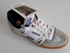 New men's Hi-Tec COURTX4 white leather/mesh squash shoes 13