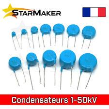 Condensateur Haute Tension Céramique 1 2 3 6 10 15 20 30 50 kV Marx Tesla Coil