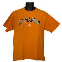 University of Tennessee at Martin Volunteers adidas Mens T-Shirt Orange Size M