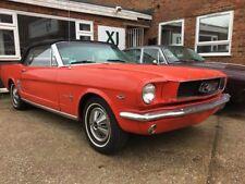 Ford Mustang Convertible 1966 Factory C code Manual V8 289