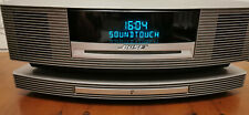 Bose Wave III Soundtouch Music System CD Touch On/Off DAB WiFi Platinum Silver