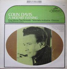 SIR COLIN DAVIS - A MOZART EVENING - LP