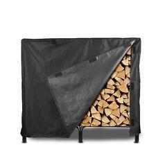 Outdoor Patio Garden Firewood Rack Log Waterproof Cover Wood Storage Protection