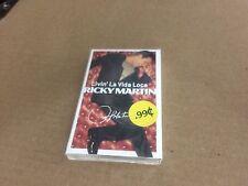 RICKY MARTIN LIVIN' LA VIDA LOCA FACTORY SEALED CASSETTE SINGLE C5