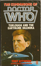 RARE: Turlough and the Earthlink Dilemma. Doctor Who. 1st Target Books edition.