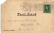 Rare Collectibles Cancelled Stamp Postcard
