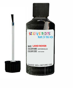 Touch Up Paint LAND ROVER SANTORINI BLACK DEFENDER,DISCOVERY,EVOQUE,FREELANDER