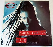"CUTOFF Featuring THEA AUSTIN - MOVE - MIX 12"" NUOVO UNPLAYED"