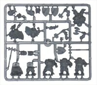 Mantic Kings of War Dwarf Ironclad Troop sprue - plastic frame