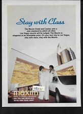 MAXIM HOTEL & CASINO LAS VEGAS STAY WITH CLASS 1978 AD