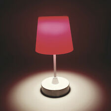 Roane LED Rechargeable Wireless 3 Steps Table Lamp for indoor and outdoor - Pink