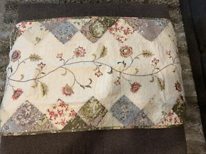 "Jcp Home Expressions Portia King Pillow Sham 20""x36"" Multi"