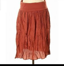 NWT RETAIL $78.Ann Taylor Women's  Silk Semi Sheer Skirt Size Small