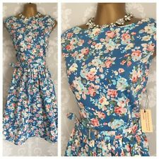 BNWT Lindy Bop 50s Vintage Dress Size 16   Evening Occasion Party Races Wedding