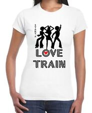 Love Train Disco Fancy Dress Women's T-Shirt - 70s 1970s O Jays