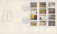 CANADA #1027a 32¢ CANADA DAY LL FULL PANE FIRST DAY COVER