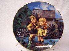 """M. J. Hummel """"Hello Down There"""" Little Companions Series Collectible Plate"""