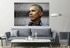 44th President of the United States Barack Obama Politician Canvas Print Art