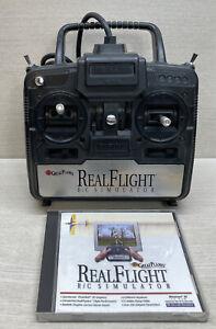 Great Planes Real Flight R/C Flight Simulator Futaba Controller & Game Untested