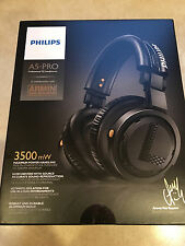 NEW IN BOX Genuine Philips A5 PRO Headphones For DJ/Audio professionals