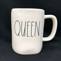 "Rae Dunn Artisan Collection Mug by Magenta 192  ""Queen"" QUEEN"