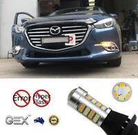 Gex T20 LED 2835 Dual Switchback LED DRL Indicator Turn Signal For Mazda 3 15-18