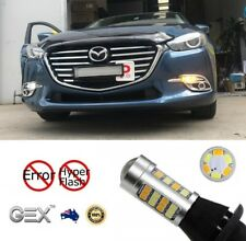 Gex T20 LED 2835 Dual Switchback LED DRL Indicator Turn Signal For Mazda 3 15-18