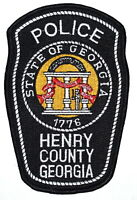 HENRY COUNTY GEORGIA GA Sheriff Police Patch STATE SEAL COLUMNS BANNER SOLDIER ~