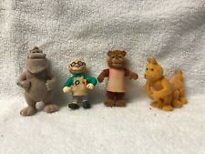 Teddy Ruxpin Figures 80s - Lot of 4