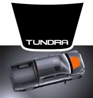 For 2014-2021 Toyota Tundra black vinyl HOOD DECAL wrap w/ letters on tront