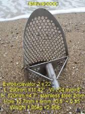 """Stavr Scoop evroexcavator - 2 v.22, arena cuchara mango de metal de la detección, 2mm, 1 1/4"""""""