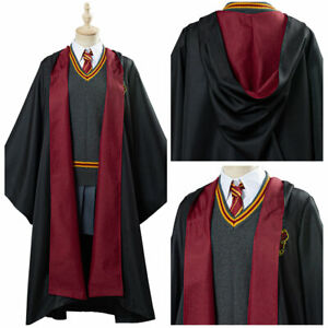 Hermione Granger Gryffindor School Uniform Robe Suit Costume