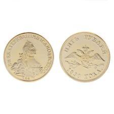 Golden Russian Bird Human Commemorative Collection Coin Art Gift Souvenir Alloy