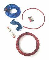Kit Di Cavi Audio RCA Per Istallazione Amplificatore Auto Cablaggio Subwoofer