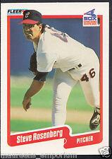 FLEER 1990 card da Baseball-N. 547-Steve Rosenberg-Chicago White Sox